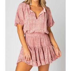 BuddyLove Ruffle Mini Dress